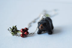 Bears Eat Beets | The Office Fan Necklace | Black Bear Necklace | Dwight Schrute Necklace