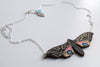 Blind Eyed Hawk Moth Necklace