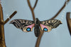 Blind Eyed Hawk Moth Necklace | Wooden Butterfly Pendant | Insect Jewelry | Woodland Moth Art - Enchanted Leaves - Nature Jewelry - Unique Handmade Gifts