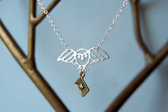 Long Live Hedwig! | Harry Potter Necklace | Owl Post Necklace | Hedwig Necklace
