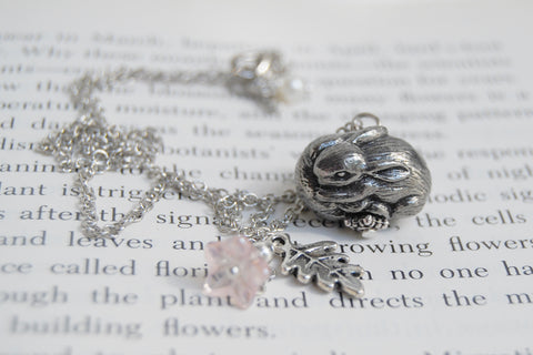 Infinity Bunny Necklace