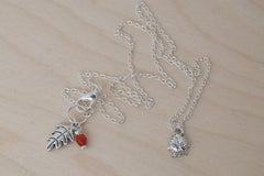 Little Silver Ladybug Necklace