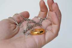 My Preciousss! | The One Ring Necklace | Lord of the Rings Necklace | Gold Ring of Power