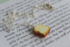 It's Peanut Butter Jelly Time! | Sandwich Charm Necklace