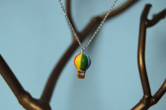 Petite Hot Air Balloon Necklace
