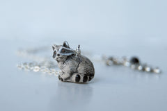 Rocky Raccoon | Cute Raccoon Charm Necklace | Rocket Raccoon Necklace