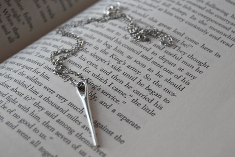 Sewing Needle Necklace