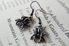 Spooky Spider Earrings | Cute Halloween Spider Charm Earrings - Enchanted Leaves - Nature Jewelry - Unique Handmade Gifts