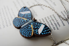 Starry Night Butterfly Necklace