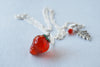 California Strawberry Necklace