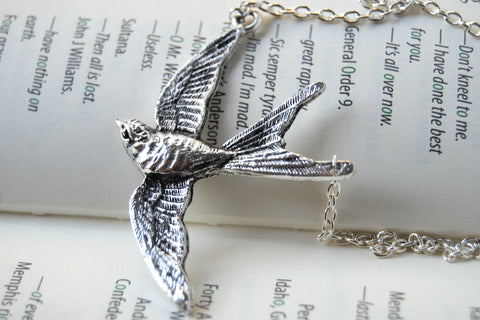 Swooping Swallow Necklace