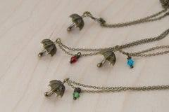 Umbrella BFF Necklace (Sold Singly)