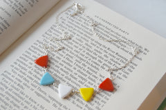 An Unexpected Party | Hobbit Necklace | Lord of the Rings | Pennant Banner Necklace