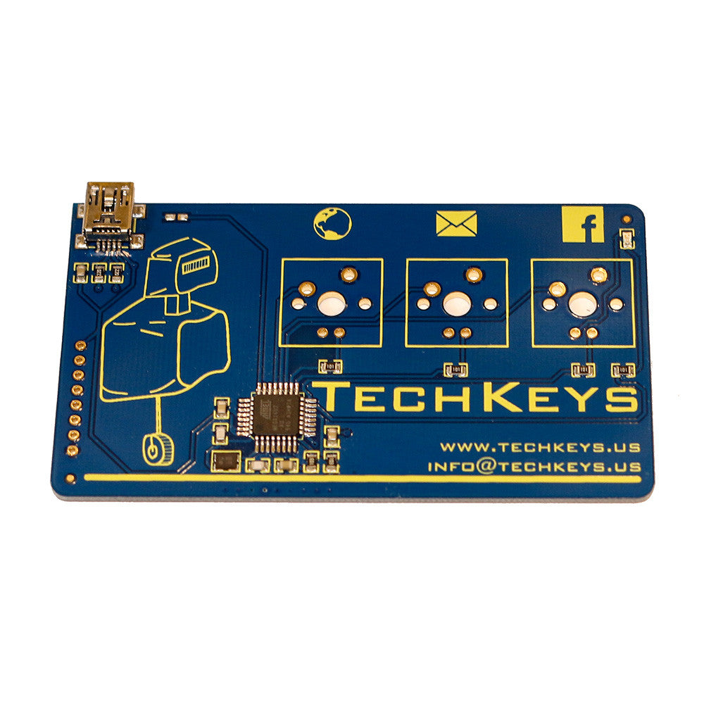 Techkeys Keyboard Business Card | TechKeys