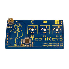 Techkeys Keyboard Business Card