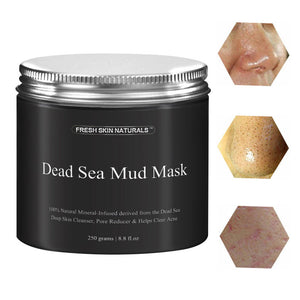 Mineral Dead Sea Mud Mask Exfoliation Moist Pore Shrinking Tender Cleaner Acne Treatment