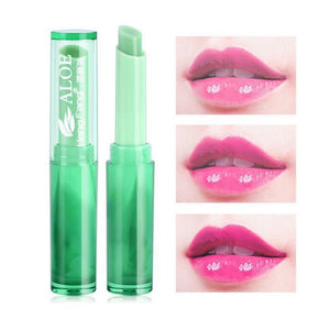 ALOE VERA Color Change Jelly Lipstick Natural Long Lasting Moisturizing Lip Makeup