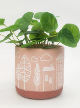 Load image into Gallery viewer, Skyline Planter Pink Small