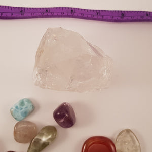 Crystals - Clear Quartz Point with Flat Base