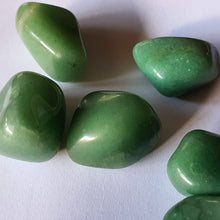 Load image into Gallery viewer, Crystals - Adventurine Tumbled Stone
