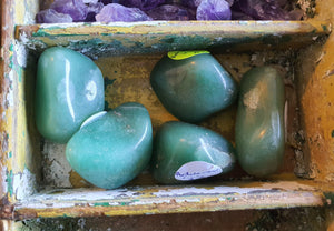 Crystals - Adventurine Tumbled Stone