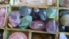 Load image into Gallery viewer, Crystals - Fluorite Tumbled Stone