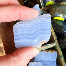 Load image into Gallery viewer, Crystals - Agate (Blue Lace) Slice