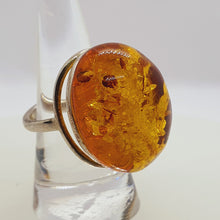 Load image into Gallery viewer, Crystals - Amber Ring - Sterling Silver