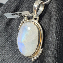 Load image into Gallery viewer, Crystals - Rainbow Moonstone Pendant - Sterling Silver