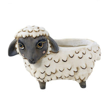 Load image into Gallery viewer, Allen Designs - BABY Sheep Planter BLACK