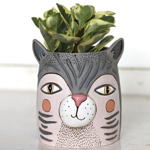 Allen Designs - Fat Cat Planter