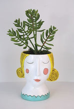 Load image into Gallery viewer, Allen Designs - Lady Planter - YELLOW HAIR