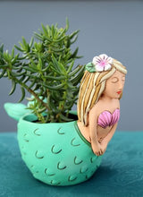 Load image into Gallery viewer, Allen Designs - Mermaid Planter