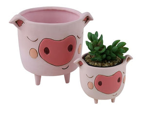 Allen Designs - Piggy Wiggy Planter