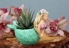 Load image into Gallery viewer, Allen Designs - BABY Mermaid Planter