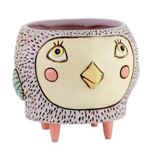 Allen Designs - BABY Bird Planter - Pink