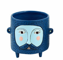 Load image into Gallery viewer, Allen Designs - BABY Hairy Jack Planter BLUE