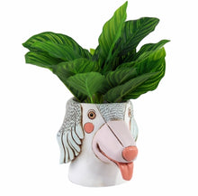 Load image into Gallery viewer, Allen Designs - Saluki Dog Planter