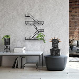 * PRE ORDER * Fire Escape Shelf Planter