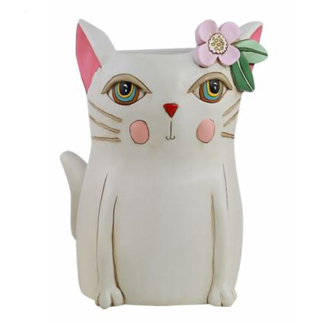 Allen Designs - Kitty Planter ~ HUGE