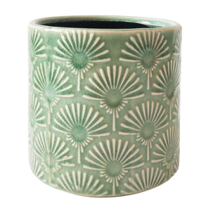 Poppy Planter Green