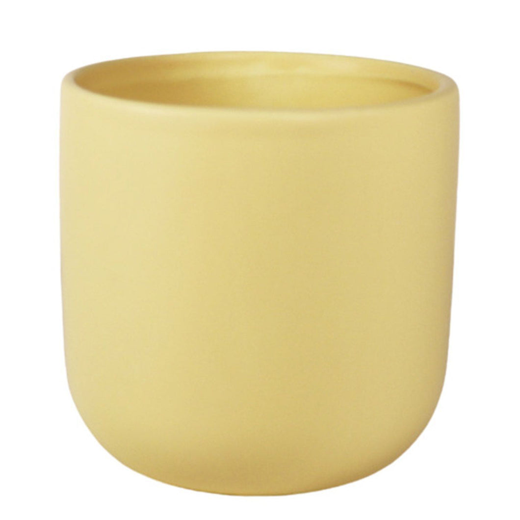 Pastel Yellow Planter