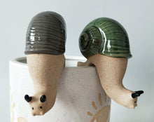 Load image into Gallery viewer, PRE-ORDER - Snail Pot Hanger