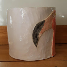 Load image into Gallery viewer, Plant Pot/Planter: Fancy Flamingo