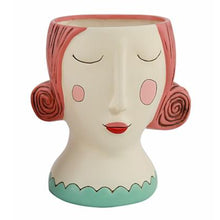 Load image into Gallery viewer, Allen Designs - Lady With RED Hair Planter ~ HUGE
