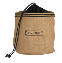 Load image into Gallery viewer, Fun Jute/Hessian Pot Cover - Onion Sack
