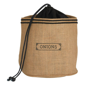 Fun Jute/Hessian Pot Cover - Onion Sack