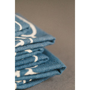 Make Your Own Luck Shop Rag Blue