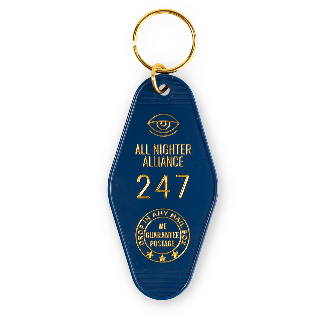 All Nighter Alliance Key Fob