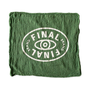 Final Final Shop Rag Green